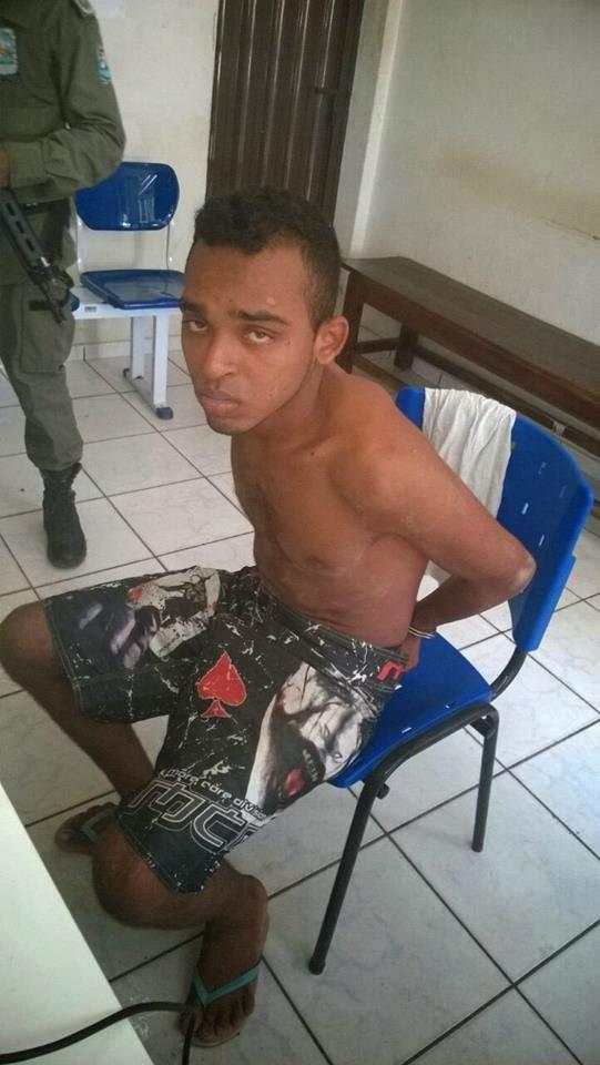 POLICIA: Um dos foragidos da penitenciaria de Bom Jesus foi recapturado
